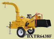 WLBXTR6438F Wallenstein Engine Powered Commercial Brush Chipper