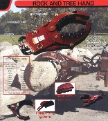 EZ-2010 Rock And Tree Hand Attachment For EZ Spot Ur