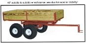 7550ATV Heavy Duty Tandem Axle ATV Trailer