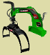 LXG320R Three Point Hitch Log Grapple Hydraulic Rotator 48 Inch