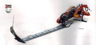 Model 15-BSB-074 Befco tractor mounted sickle bar mower 5 ft. long sickle blade, with hydraulic blade lift, pto powered