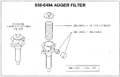 030-0495 Hydraulic Filter Mackissic Easy Auger