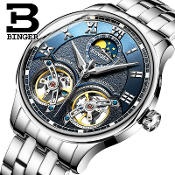 BG004 Binger Mechanical Automatic Men's Wrist Watch