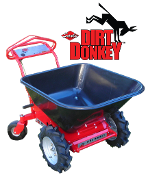 Dirt Donkey Engine Powered Wheel Barrow Hydrostatic Trans Sarlo
