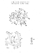 590406 Side Support Stabilizers For HK1106 11062 Tractor Hitch