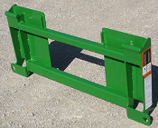 835205 Adapter Plate Skid Steer To JD 500 Adapter