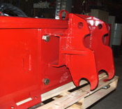 EZ-Spec Bolt Together Mount Plate Excavator And Skid Steer