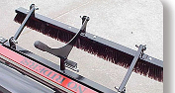 10003333 Brush 24 Inch Wide Course w/Mounting Holes Newstripe