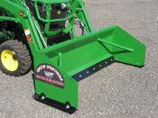 SPJD-2048R Pusher Plow Tractor Loader Mount For John Deere 4 Ft.