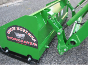 SPJD-2048M Pusher Box Type Snow Plow 4 Ft. With Metal Edge