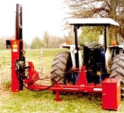 HPD-22QSWO 81535 Tractor 3 Pt. Mount Offset Post Driver