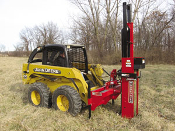 HPD-22QHSS/P Skid Steer Mount Post Driver Self-Contained Hyd.
