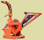 BX36S Wood Chipper 3 Point Mount PTO