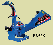 BX52S Wood Chipper PTO Drive 3 Point Hitch Wallenstein Mfg