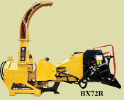 "BX72R Wood Chipper 3 Pt. PTO Hydraulic Feed 7"" Diameter Capacity"