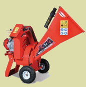 BXC34 Wood Chipper Honda Engine Cart Style 3 Inch Capacity