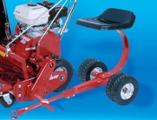 Mower Sulky Tru-Cut Wheel Drive Commercial Reel Mowers