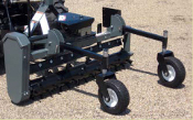PTC-525 Worksaver Power Rake 5 ft. Wide