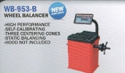 WB-953-B Wheel Balancer Without Hood Auto Wheels MC w/adapter