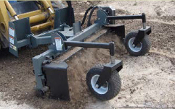 PSHD-665 Skid Steer Mount Hydraulic Power Landscape Rake