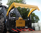 I73 Tanco Skid Steer Mount Hay Bale Shear