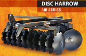 RIB-2022 Bison Offset Disc Harrow 20 Discs 22 Inch Diameter