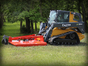 C-60 Bigfoot Skid Steer Mounted Brush Cutter 4 Inch Cut Capacity