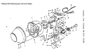 780642 Support Drive Shaft Worksaver 580 Cement Mixer