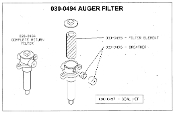 030-0496 Filter Breather For Easy Auger Auger Filter Mackissic