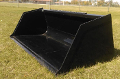 33012 Legends Skid Steer Mount Utility Bucket 66 Inches Wide