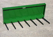 MF/S-50S Manure/Silage Fork 50 Inches Wide USS Mount Steel Tines