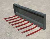 WOM/S-60U Universal Mount Manure And Silage Fork 60 Inches